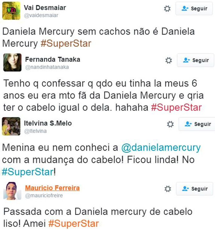 post cabelo daniela mercury (Foto: Web)