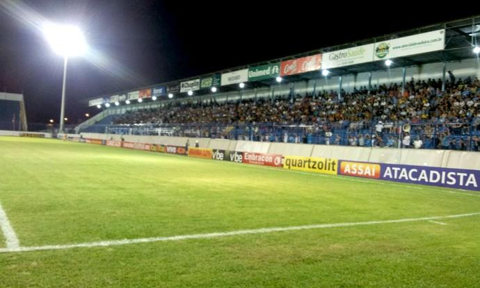 Estádio Abreuzão, Marília (Foto: Ricardo Prado / Marília AC)