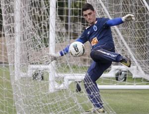 Rafael, goleiro do Cruzeiro (Foto: Washington Alves / Vipcomm)