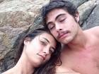 Rafael Vitti se declara para a namorada, Julia Oristanio, na web