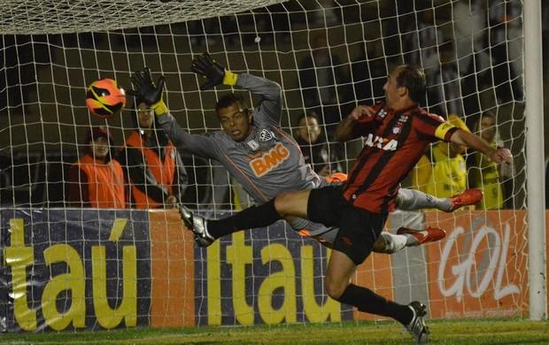 Paulo Baier Atlético-PR Atlético-MG (Foto: Divulgação / Site oficial Atlético-PR)