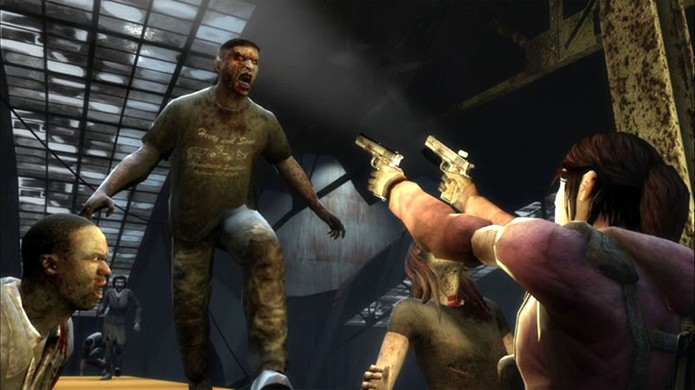 Left 4 Dead traz seus frenéticos combates multiplayer contra zumbis agora para o Xbox One (Foto: Reprodução/Microsoft)