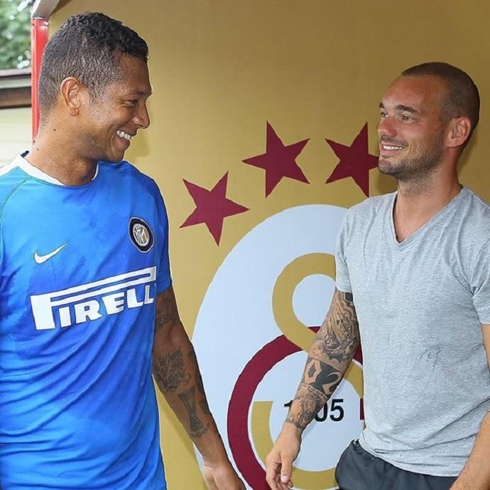 Sneijder Guarin Inter de Milão Galatasaray