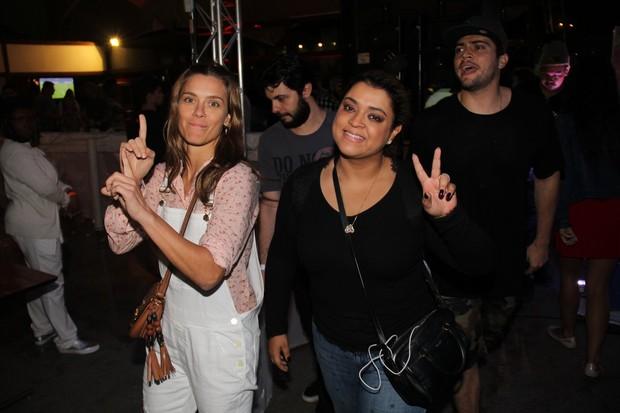 Carolina Dieckmann e Preta Gil (Foto: Vera Donato/Divulgação)