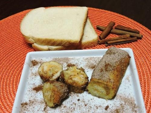 Rolinhos de pão com doce de leite e canela da ABIMAPI