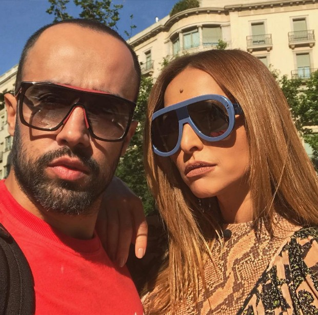 Yan Acioli e Sabrina Sato (Foto: Reprodução/ Instagram)