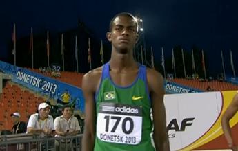 Revelação do atletismo brasileiro fica em sexto nos 100m no Mundial sub-17
