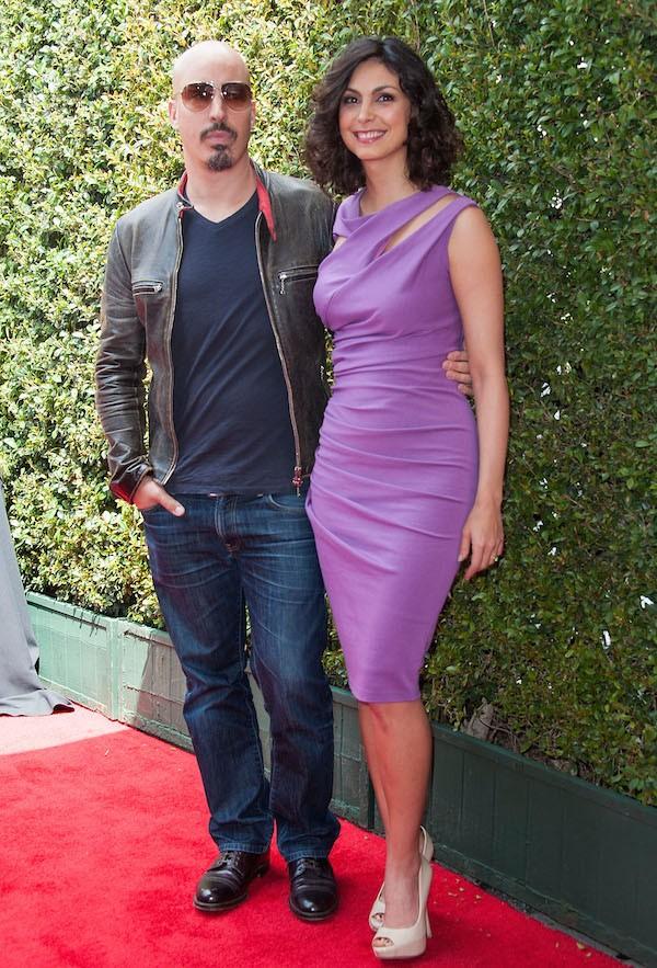 A atriz Morena Baccarin e seu ex, o produtor Austin Chick (Foto: Getty Images)