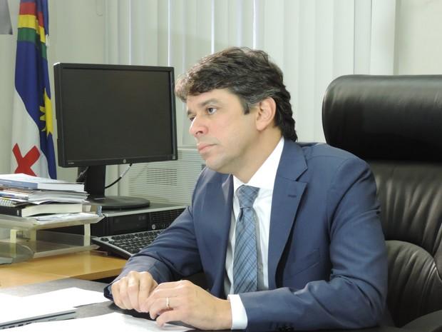 Procurador-geral de Pernambuco, Antônio César Caúla (Foto: Bruno Marinho/G1)