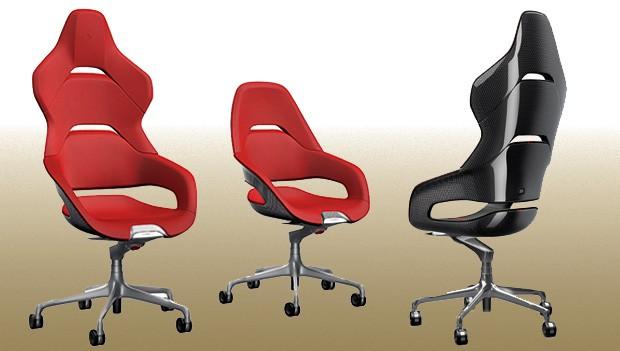 Cadeiras Ferrari (Foto: Ferrari)