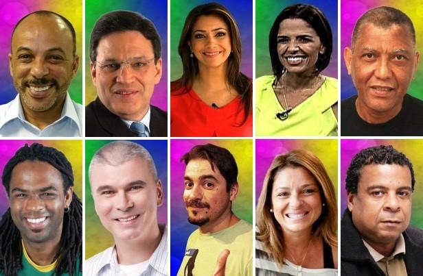 Conheça os comunicadores que vão trabalhar no Carnaval da RBS TV (Foto: Montagem sobre fotos/ Divulgação, RBS TV)