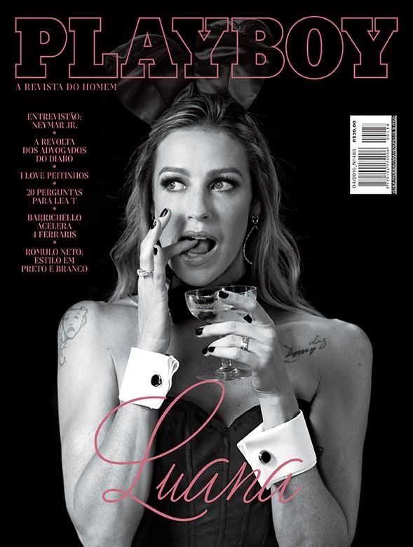 Luana Piovani (Foto: Divulgação / Playboy)