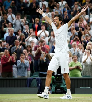 Marcelo Melo Kubot final duplas Wimbledon (Foto: Matthew Childs / Reuters)