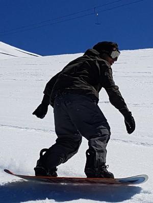 Bruno Martins snowboar corralco chile brasileiro - sandboard (Foto: Thierry Gozzer)