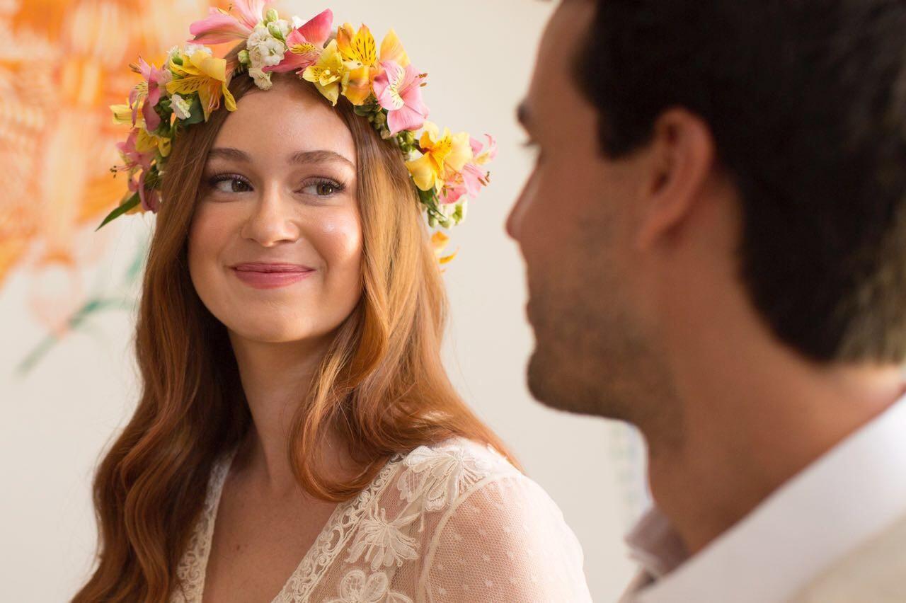 Marina Ruy Barbosa mostra detalhes do vestido do seu casamento religioso (Foto: Divulgação)