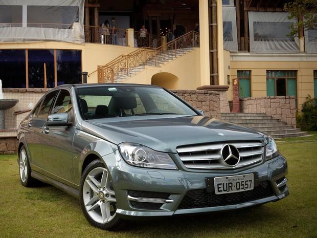 Modelo sedan classe C será produzido na fábrica da Mercedes em Iracemápolis (Foto: Imprensa/Mercedes)