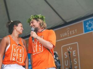Andréia Sabino e Lucas Zuch (Foto: Surfari/Divulgação)