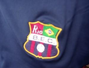 Escudo Barcelona-RJ (Foto: Leandro Canônico)