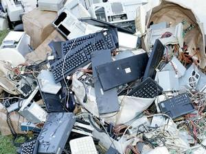 Lixo eletrônico começa a ser recolhido em Tibagi, no Paraná (Foto: Divulgação/Prefeitura)