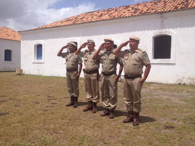 Guardas ganharam de volta Comando Geral e se revezam no trabalho de monitoria da Fortaleza, em Macapá (Foto: Fabiana Figueiredo/G1)