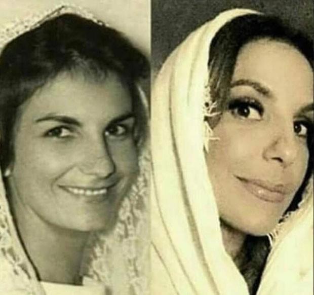 Dona Maria Ivete e Ivete: semelhança (Foto: Reprodução Instagram)