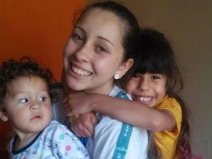 Os três filhos de Emilene (Foto: Emilene Oliveira/Arquivo pessoal)
