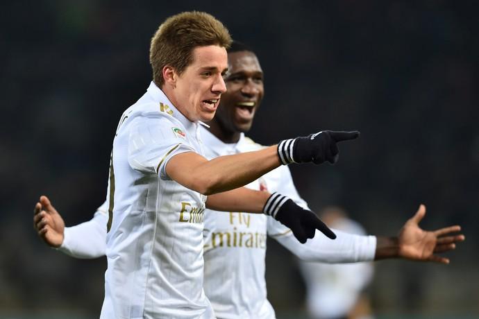 Pasalic gol Milan Bologna (Foto: AFP)