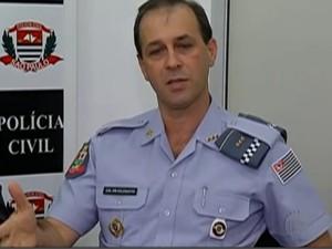 Câmeras devem ajudar a PM no combate a roubos e furto de veículos, diz o comandante do CPAM-12, Nelson Celegatto  (Foto: Reprodução/TV Diário)