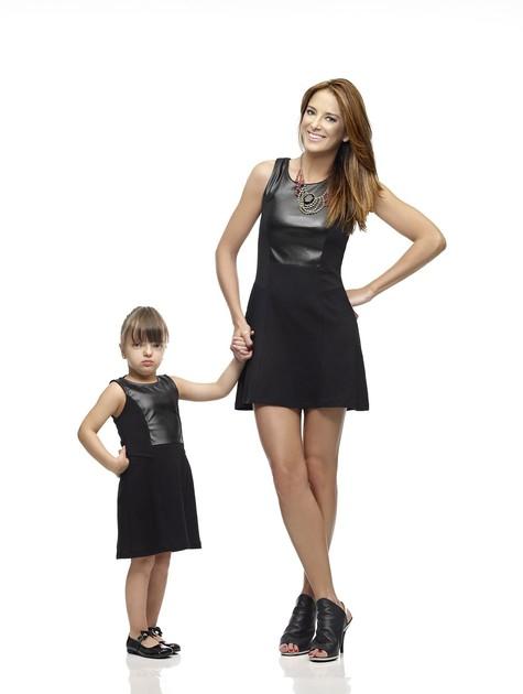 A apresentadora posou com a filha pela primeira vez para uma campanha (Foto: Divulgação)