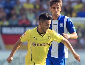 Gundogan, Borussia Dortmund x Magdeburg (Foto: AFP)