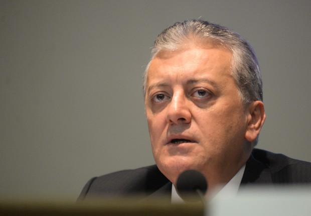 Aldemir Bendine, presidente da Petrobras (Foto: Agência O Globo)