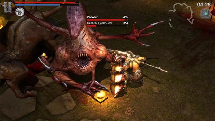 O Dark Souls dos celulares acaba de ganhar atualização com mais monstros diabólicos (Foto: Divulgação / 10Birds)