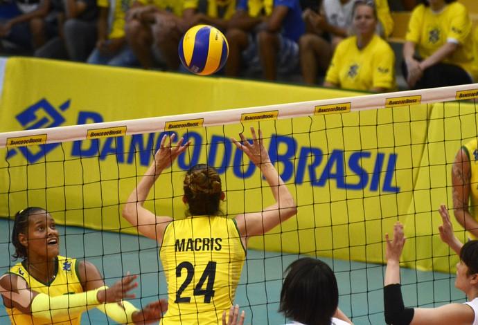 Macris vôlei Brasil (Foto: Divulgação/CBV)