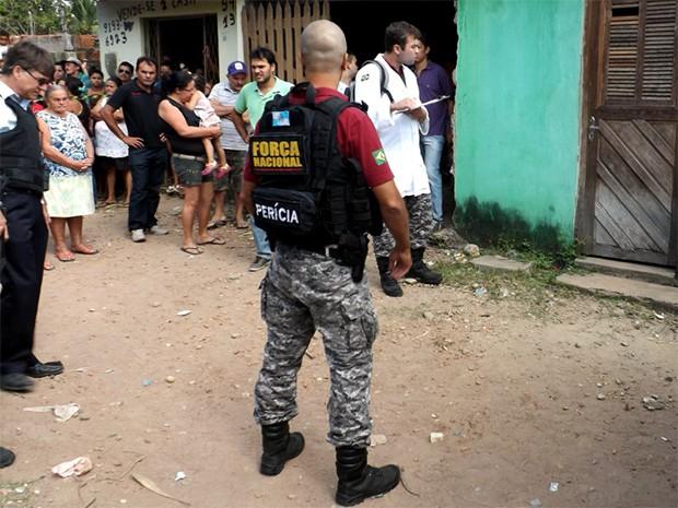 Peritos criminais e papiloscopistas da Força Nacional permanecem por mais seis meses no RN (Foto: Divulgação/Itep)