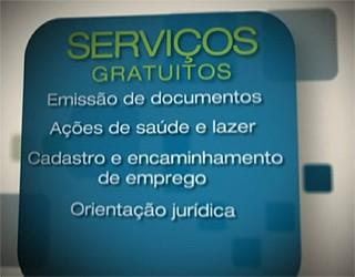 Mutirão da Cidadania Ortigueira (Foto: Reprodução/ RPC TV)