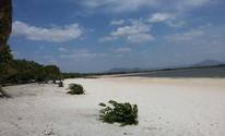 O local é aberto para visitação, mas é controlado pelos indígenas (Neidiana Oliveira/G1)