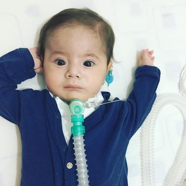 Joaquim Marques, de sete meses (Foto: Reprodução Instagram)