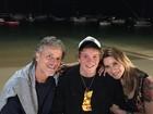 Reencontro na TV de Leticia Spiller e Marcello Novaes teve torcida do filho