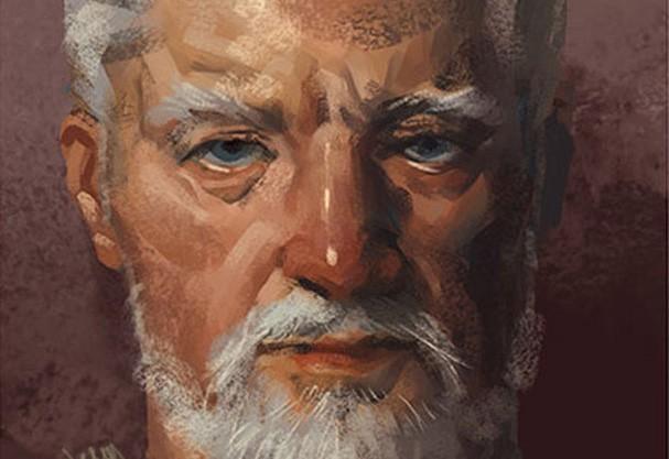 Pintor cria imagem de super-heróis na aposentadoria