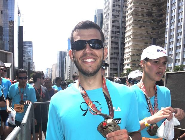 corredor São Silvestre 2014 (Foto: Luma Dantas)