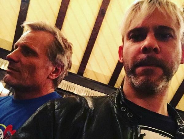 Dominic Monaghan e Virgo Mortensen (Foto: Instagram)
