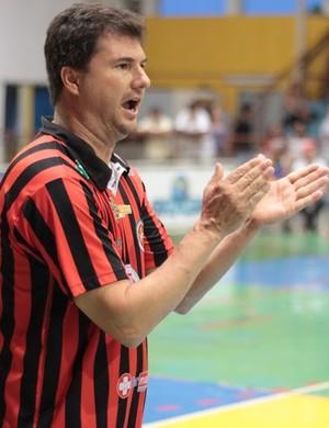 Flávio Prado técnico do Venceslau (Foto: Cláudio Almeida / Divulgação, Presidente Venceslau)