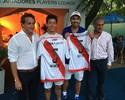 Após se declarar torcedor, Nishikori ganha camisa do River Plate na Argentina