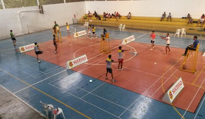 Circuito Norte-Nordeste de Badminton, na AABB de Teresina (Foto: Reprodução/Facebook)