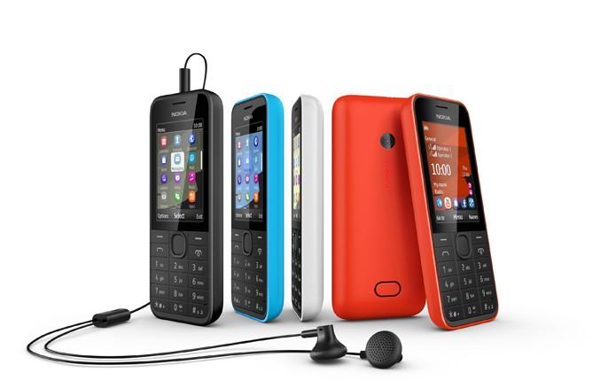 Nokia 208 tem Facebook, Twitter, WhatsApp e bateria que dura até 20 dias (Foto: Divulgação/Nokia)