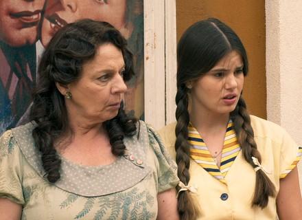 Mafalda pergunta a Maria sobre o 'cegonho'