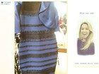 Azul ou branco? Famosas entram na polêmica de cor do vestido