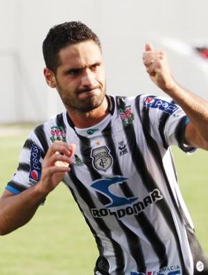 Fernando Russi, atacante do Treze (Foto: Magnus Menezes / Jornal da Paraíba)