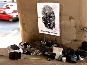 Projeto Dedo na Ferida é um desdobramento do trabalho com mendigos São Carlos (Foto: Alfredo Maffei/Arquivo Pessoal)
