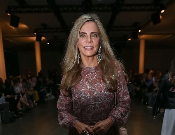 Bruna Lombardi, belíssima aos 65 anos:  (Foto: Ag News)